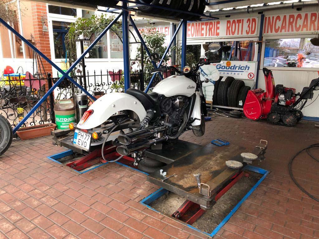 Schimb anvelope moto Autoagusta Bucuresti